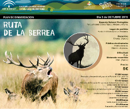Ruta de la Berrea organizada por Punto de información La Resinera