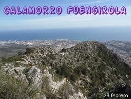 Fin de semana en Fuengirola.Subida en funicular al Cerro Calamorro y bajada a Fuengirola.