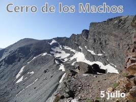 Cerro de los Machos.Sierra Nevada